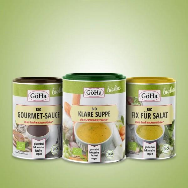 GöHa BIO-Set - beste Produkte für eine biologische Ernährung